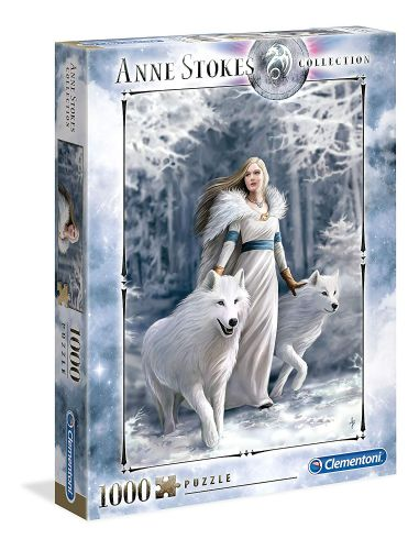 Anne Stokes Collection Winter Guardians Puzzle Jigsaw 1000pcs